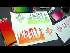 WOW! DIY Ombre ink pads! {frugal homemade supply!} - YouTube