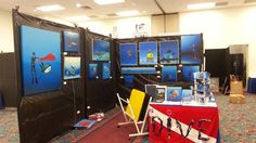 Fort Lauderdale international Boat Show with The Blue Wild: Dive seminars, exhibitors, Marine Art display, Raffle. More than 50 pieces by Pascal on display at the Marine Art exhibition.  Broward County Convention Center Middle Lobby BC room 122/123 -T11-T12  Prime Time Preview: Thurs. Oct 30, 10am – 7pm