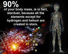 We are stardust. No not the song, we really are stardust Science Vs Religion, News Memes, Weird Science, Science News, Human Connection, Quantum Physics, Mind Body Soul, Natural Phenomena, Holistic Healing