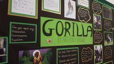 Gorilla by Anthony Browne school display. Primary School Displays, Display Boards For School, Anthony Browne, One And Only Ivan, Boss, Frame, Picture Frame, Frames, Hoop