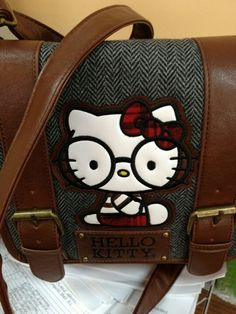 8ba551d86fd1 Lounge Fly Hello Kitty Messenger Bag Buttram Buttram Buttram Smith  (seriously did not know how much Hello Kitty stuff there was until Pintrest)