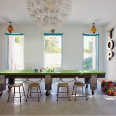 That table is totally fabulous!