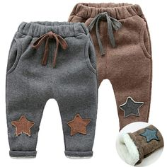 yrs Boys Winter Pants New Autumn Winter Kids Pants Children Boy Warm Cashmere Velvet Trousers for Baby Boys Leggings - Babysachen Baby Boy Leggings, Baby Girl Pants, Baby Jeans, Baby Boy Outfits, Kids Outfits, Emo Outfits, Sport Outfits, Warm Pants, Diy Vetement