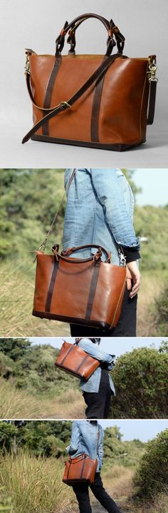 *** Spring 2015 *** Women's Leather Handbag Purse