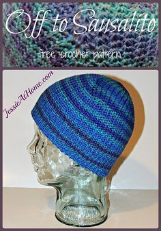 Off to Sausalito free #crochet hat pattern from @jessie_athome