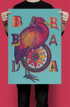 BARBADA by Willian Santiago, via Behance