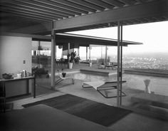 The Stahl house was built client Bucky Stahl who was enamored with his lot's incredible views of Los Angeles.  He was determined to have a wall-less wing on that side and (like Leonard Malin with the Chemosphere) that it was impossible.  Pierre Koenig was the only architect up for the challenge.  Today, the Stahl house is privately owned, occasionally open to the public.