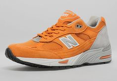 huge selection of 2af90 1fa82 NewBalance 991 OrangeGrey - Made in England sneakers Sneakers Mode,  Schuhe