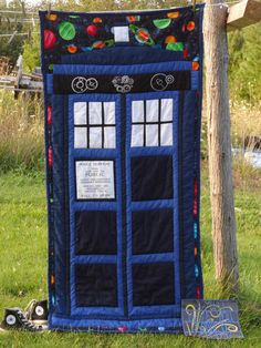 Doctor Who  Started with making quilts, I really want to make this one :)
