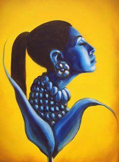 Mujer de Maiz by David Flores-Lasteez