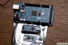 Arduino microcontroller / ATmega328 / AVR - Mega / Nano / Mini Pro - Fotolog