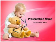 Kid Playing Doctor Powerpoint