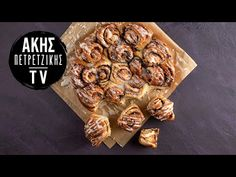 Cinnamon Rolls Επ. 19 | Kitchen Lab TV | Άκης Πετρετζίκης - YouTube Desert Recipes, Raw Food Recipes, Nutrition Chart, Processed Sugar, Good Fats, Sweet Bread, Cinnamon Rolls, Quick Easy Meals, Tasty