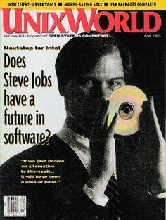 April 1983 | UnixWorld [US] Steve Jobs on Magazine Covers