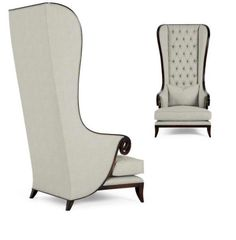 High back chairs were popular in Byzantine design and continue to have a place in furniture design.