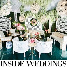 Photos by Tracey Morris; Design & Furnishings by Edgar Zamora for Revelry Event Designers; Floral & Design by Amy Marella for The Hidden Garden; Lighting by Lonny Thompson for Images by Lighting; Venue: Revelry Design Studio