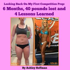 When I decided to undergo my first competition prep, I literally had no clue what I was getting into. Scared is an understatement of how I felt. People kept trying to tell me what to expect, but honestly, there was no way to anticipate what I'd experience until I actually went through it. Now that I can look back at the process, I am so thankful for every second. In six months, I was able to go from being ashamed of my appearance, to being 40lbs. lighter and PROUD of how I looked. The…