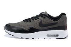Nike Air Max 1 Ultra Moire CH Grey/Black Mens Running shoes 724390-003 Size Euro 40-46 US 7-12