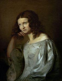 Anselm Feuerbach - Portrait of his Sister
