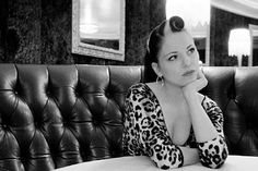 Love Imelda May's pin up style hair