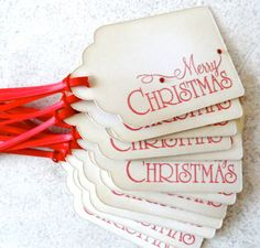 """Now, I need a stamp that says """"Merry Christmas"""""""