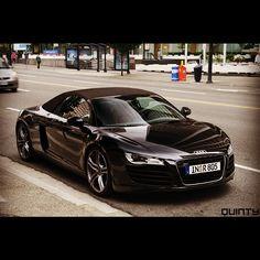 The Audi R8 Spyder #WantanR8