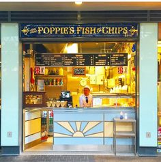 Poppies fish and chips London