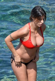 pregnant elisabetta canalis bikini  pictures - More here: http://www.mycelebrity.eu/elisabetta-canalis-pregnant-bikini-pictures-in-sardinia/