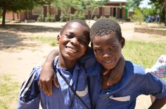 Great buddies #NFPS #HELPChildren #Malawi #Africa #Friends #Students