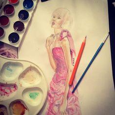 Fashion illustration by LinaR