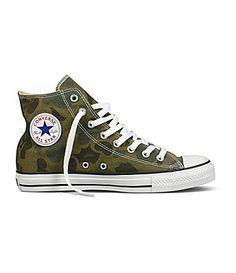53c9c9922e3 Converse Men´s Chuck Taylor All-Star Camo High-Top Sneakers
