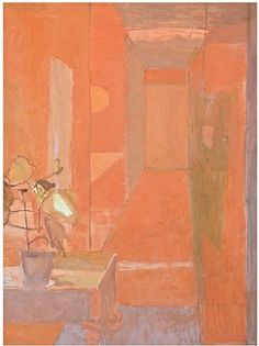 Mary Potter - Red Corridor. 1970