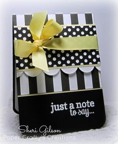 Just a Note, TPE267 by PaperCrafty - Cards and Paper Crafts at Splitcoaststampers