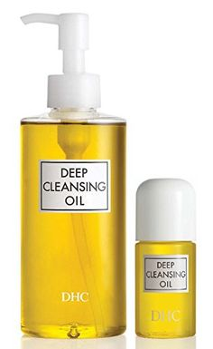 DHC Deep Cleansing Oil makeup remover completely dissolves all traces of dirt and cosmetics, even waterproof mascara and eyeliner, while nourishing your com Dhc Skincare, Skincare Routine, Oil Makeup Remover, Makeup Eraser, Best Face Wash, Make Up Remover, Best Face Products, Beauty Products, Beauty Tips