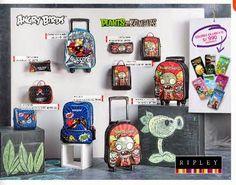 Mochilas y Cartucheras Angry Birds febrero 2015