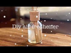 Πολύ απλό αρωματικό χώρου για το μπάνιο !! - YouTube Air Freshener, Essential Oils, Perfume Bottles, Soap, Youtube, Diy, Bricolage, Perfume Bottle, Do It Yourself