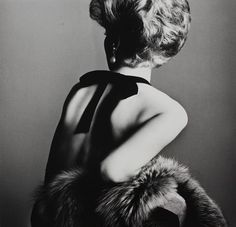 Irving Penn's Woman With Bare Back