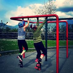 On skates pull-up competition by pivotstar