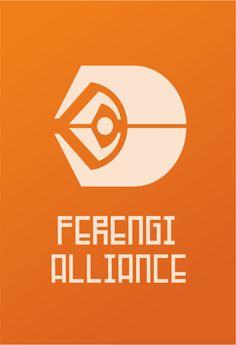 Star Trek Logo Ferengi Flat Design