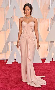 Zoe Saldana. Oscar 2015