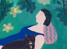 A Nap with my Cat  Barbara Perrine Chu