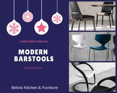 Belvisi kitchen and furniture have an amazing collection of Modern Barstools designed by Martin Ballendat and produced by Tonon an Italian leading furniture company. Visit Us.