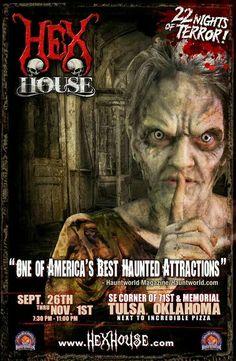 Hex House - Tulsa, OK  www.tulsahexhouse.com
