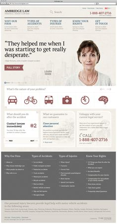 Ambridge Law Webdesign Inspiration