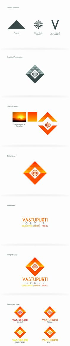 Vastupurti Group Logo Presentation #logo_design