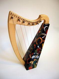 Irish Lap Harp from Cree Studios