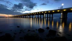 Ocean Springs- Biloxi bridge   by Alex North
