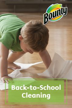 These tips and helpful ideas for Back-to-School Cleaning is perfect for saving your sanity when busy weeknights and endless activities consume your time.
