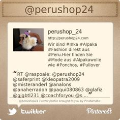 @perushop24's Twitter profile courtesy of Pinstamatic (http://pinstamatic.com)