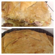 Slow Cooked Chicken Pie Filling